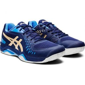 Кроссовки муж. Asics Gel-Challenger 12 clay black/blue